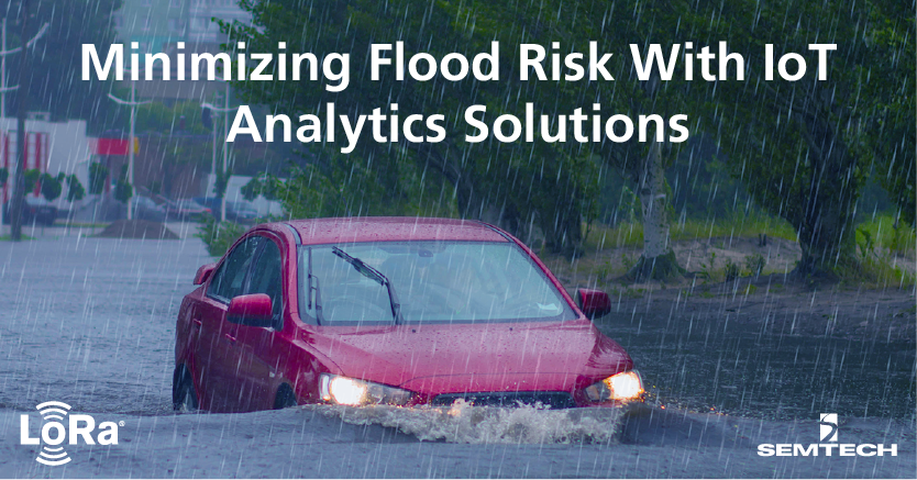 Minimizing Flood Risk with IoT Analytics Solutions