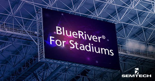 The Roar of the Crowd: BlueRiver for Stadiums