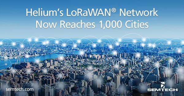 Helium's-LoRaWAN-Network