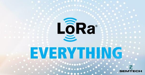 LoRa everything infographic