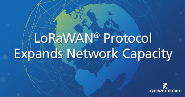 LoRaWAN protocol expands network capacity