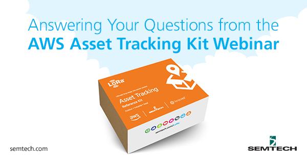 AWS Asset Tracking Kit